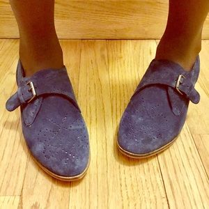 Dolce Vita Navy Blue Suede loafers 6 1/2